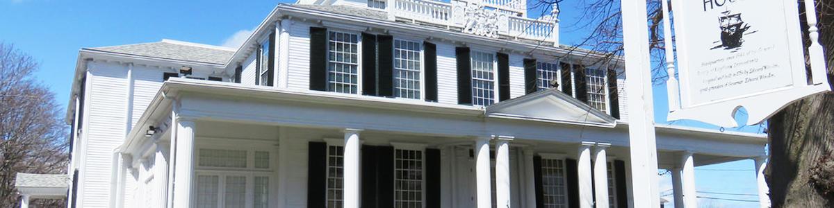 Barnicle and Husk at the Mayflower Society House